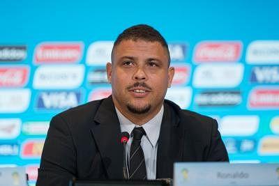 Ronaldo. (Xinhua/Xu Zijian/IANS)