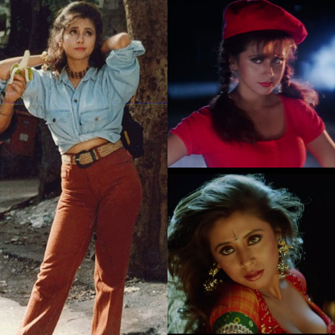 From cold shoulder to chokers, Urmila Matondkar's outfits from <i>Rangeela</i> (styled by Manish Malhotra) are still in vogue!&nbsp;