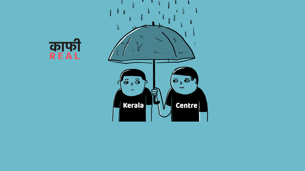 Cartoon: Modi Govt Stops Kerala From Drowning... in Foreign Aid