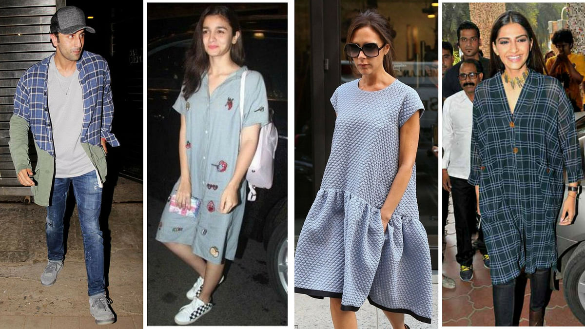 You can call it 'Baggy' or 'Over-sized': the style is back in a big way, as seen on Ranbir Kapoor, Alia Bhatt, Victoria Beckham and Sonam Kapoor.