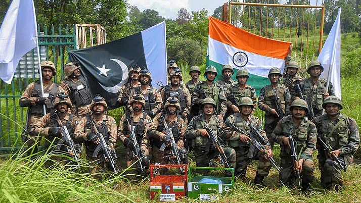 Indian and Pak Armies Exchange Sweets At LoC on Eid-al-Adha