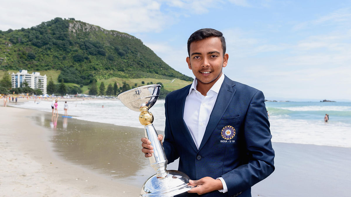 18-year-old Prithvi Shaw has been picked in India's test squad for the remaining matches of the series against England. He led India to the Under-19 World Cup title in January 2018.
