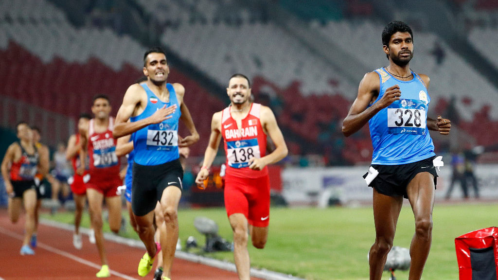 Jinson Johnson Finds Redemption in 1500m, Wins Gold for India