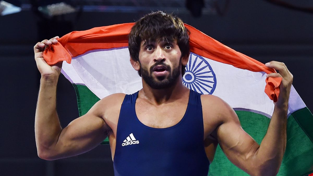 Asian Games 2018: Bajrang Punia has won India's first gold medal of the 2018 Asian Games.