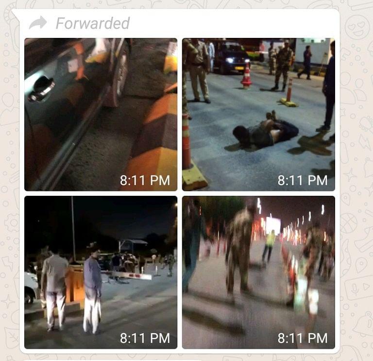 "WebQoof: Video of  Police Nabbing ""Terrorist"" in Jaipur is Fake"