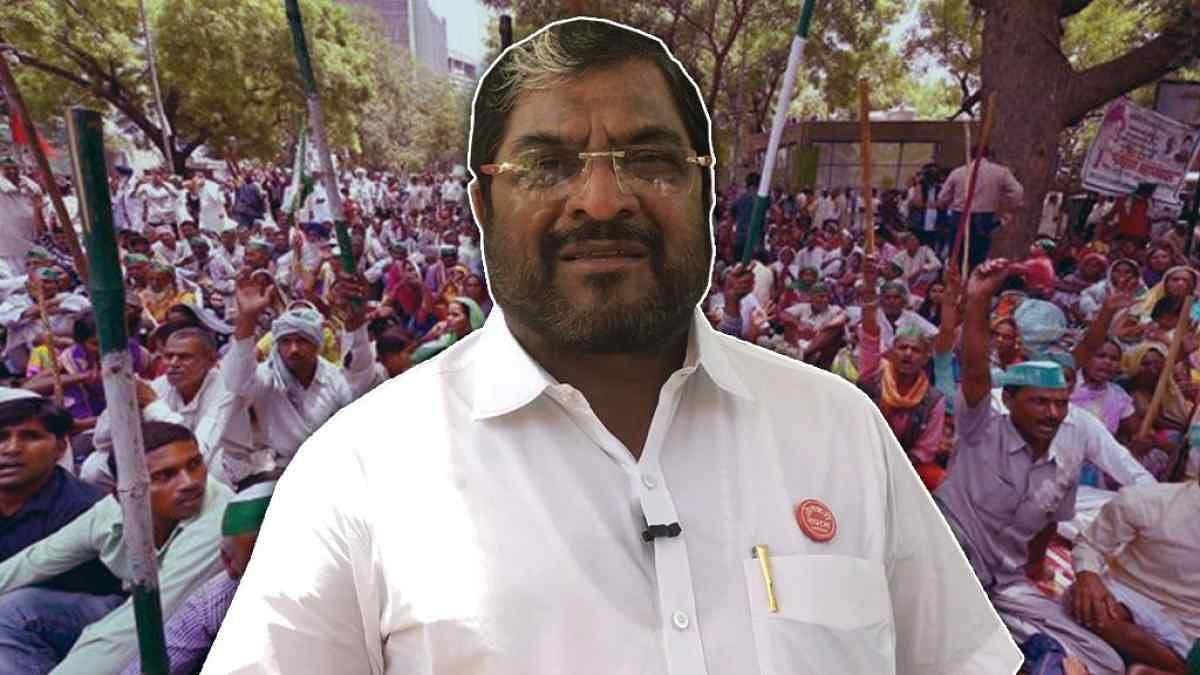 Raju Shetty is considered to be an influential farmer leader of Western Maharashtra.