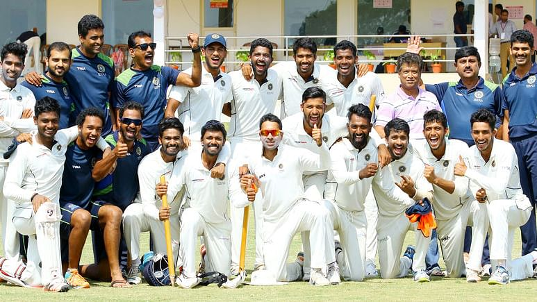 File picture of the Kerala Ranji trophy team.