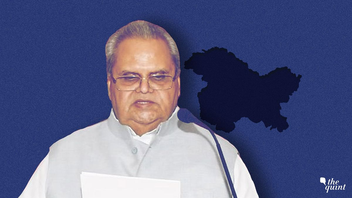 Satya Pal Malik took oath as J&K Governor.