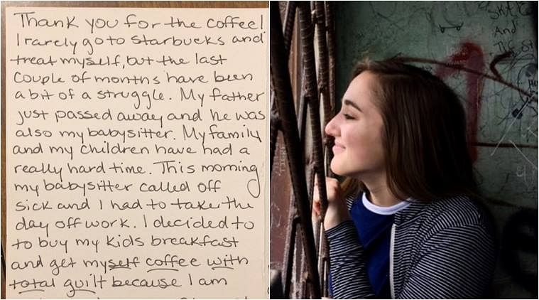 A Student Buys Coffee for a Stranger & Teaches Kindness to Twitter