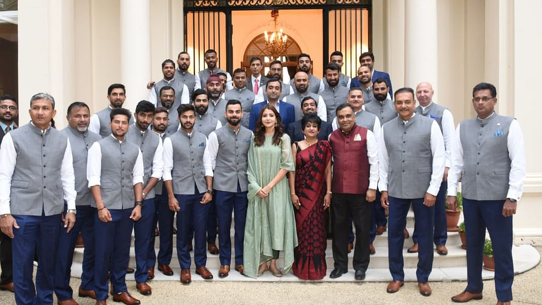 """""""Can't Wait to See Anushka Bat"""": BCCI Trolled For Team India Pic"""