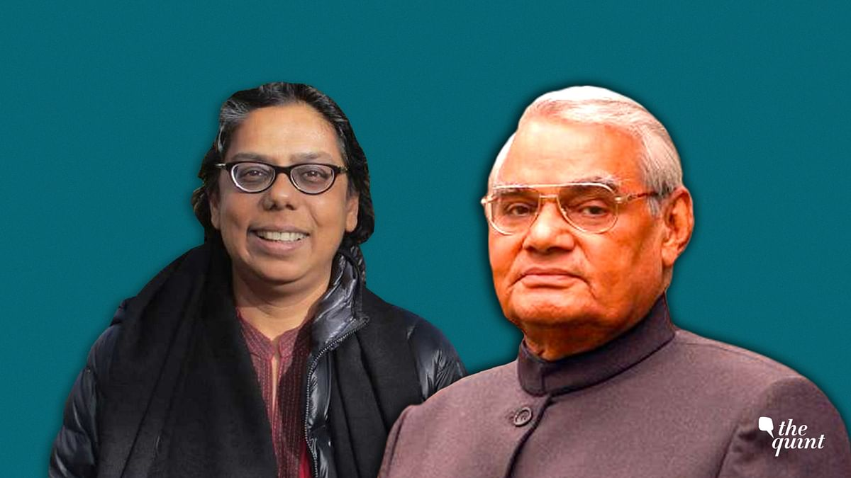 Journalist Ruchira Gupta (L), late (former) PM of India, A B Vajpayee (R). Image used for representational purposes.