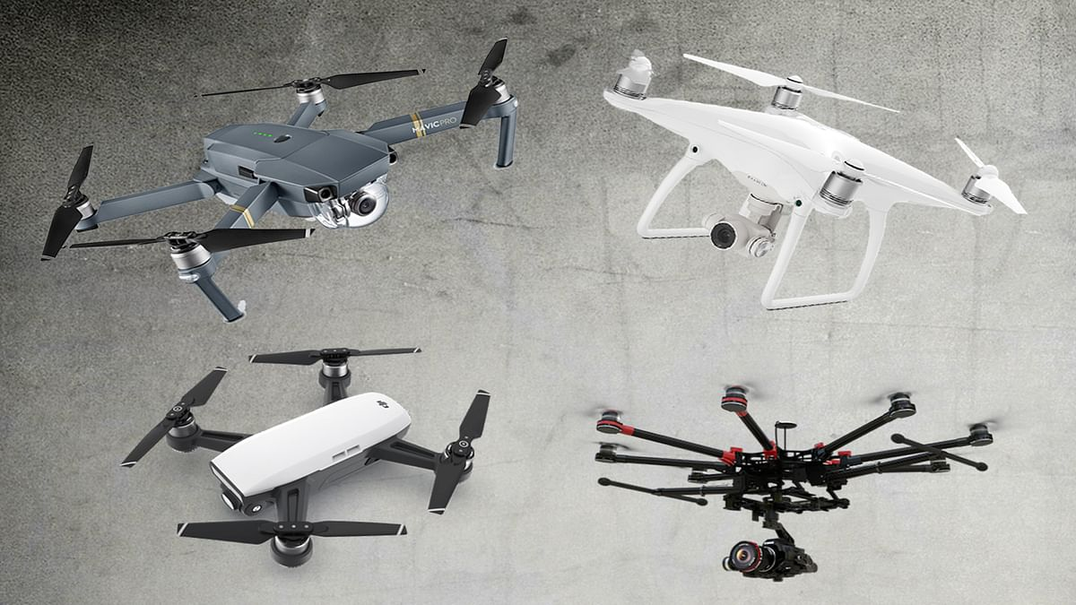 Drones You Can Buy in India and How They Are Classified
