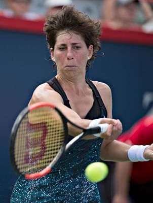 Carla Suarez Navarro of Spain . (File Photo: Xinhua/Andrew Soong/IANS)