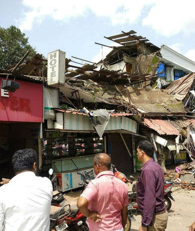Many Feared Trapped in Building Collapse in Palakkad, Kerala