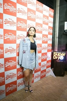 Mumbai: Actress Yami Gautam during a programme organised by fashion brand Superdry, in Mumbai, on Aug 26, 2018. (Photo: IANS)