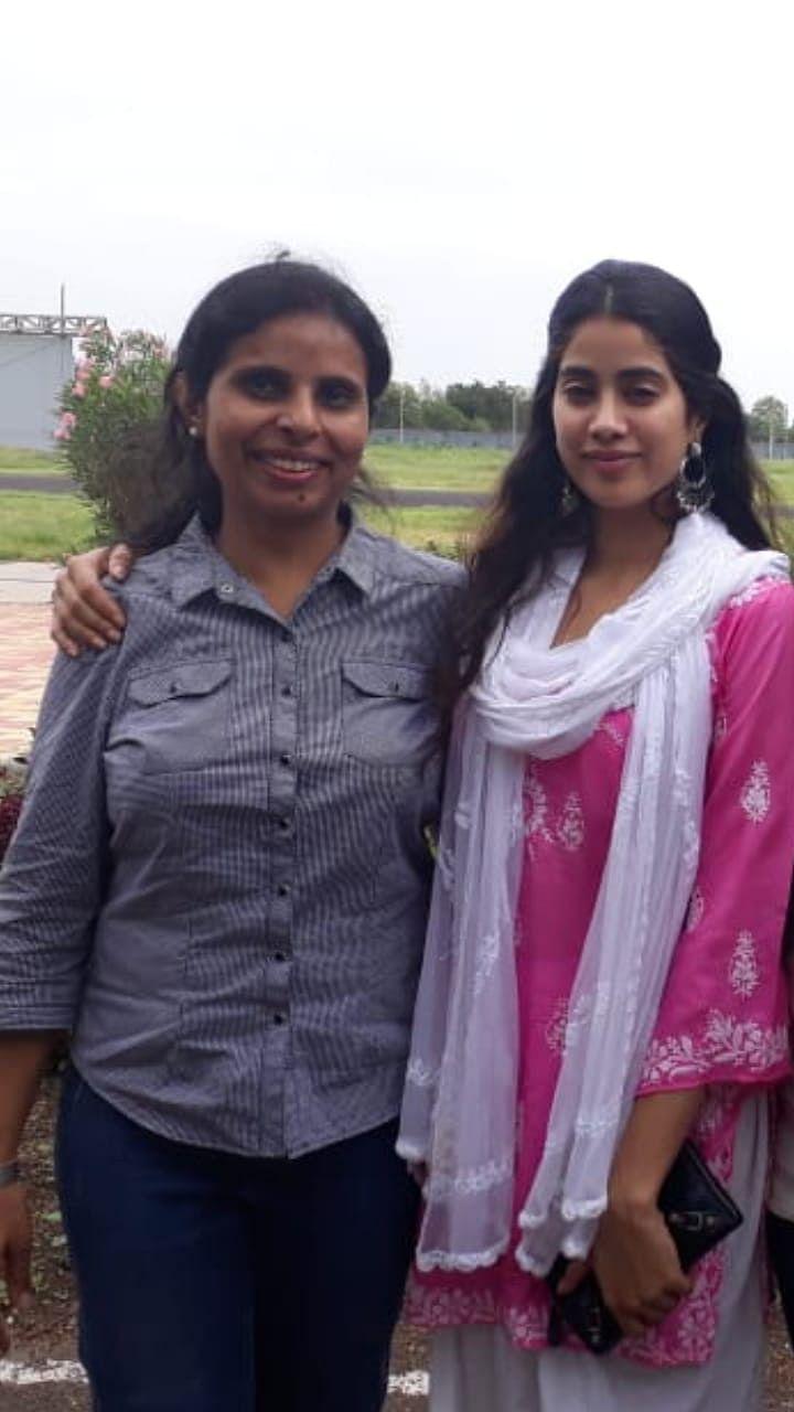 Janhvi Kapoor and Gunjan Saxena.