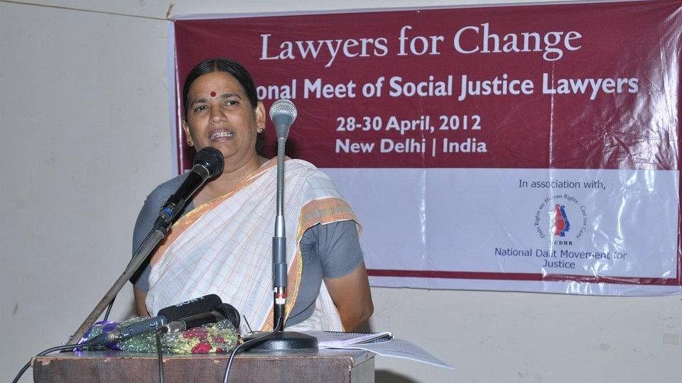 Human Rights Advocate Sudha Bharadwaj was taken into custody this morning.