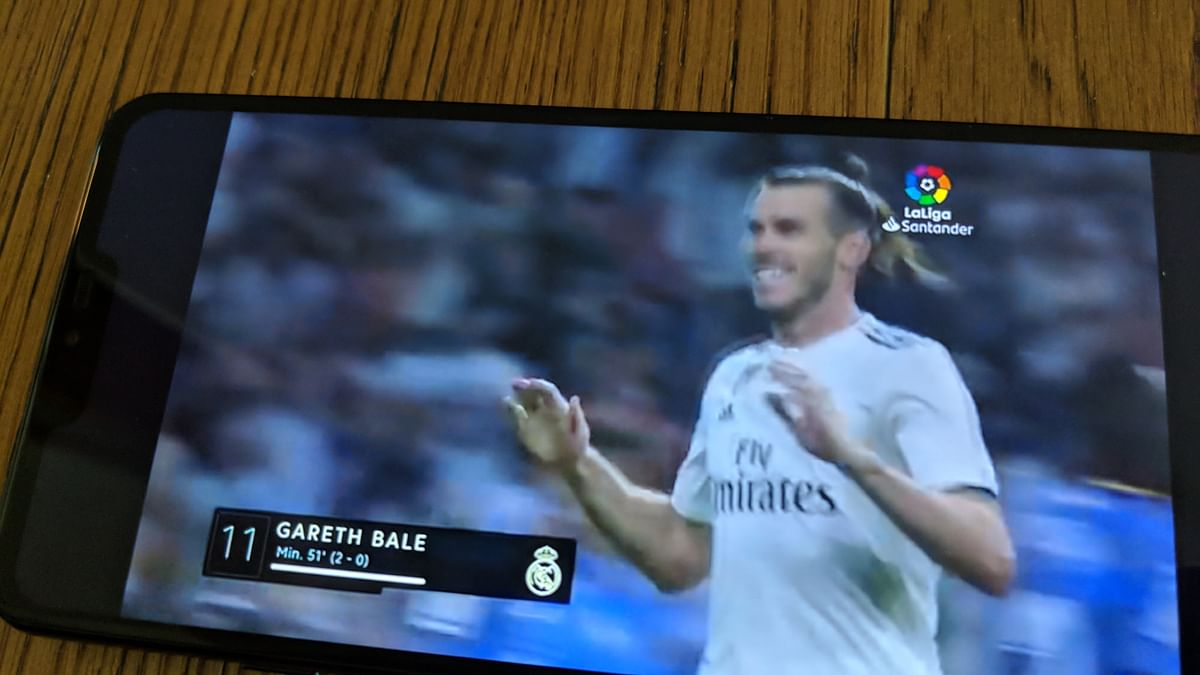 Gareth Bale plays for Real Madrid.
