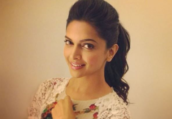 Deepika being the sweet girl that she is.