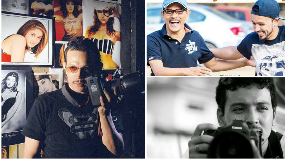 For the uninitiated, Rohan  is the son of legendary photographer - Rakesh Shrestha, who has shot for more than 600 films and every superstar of his time.
