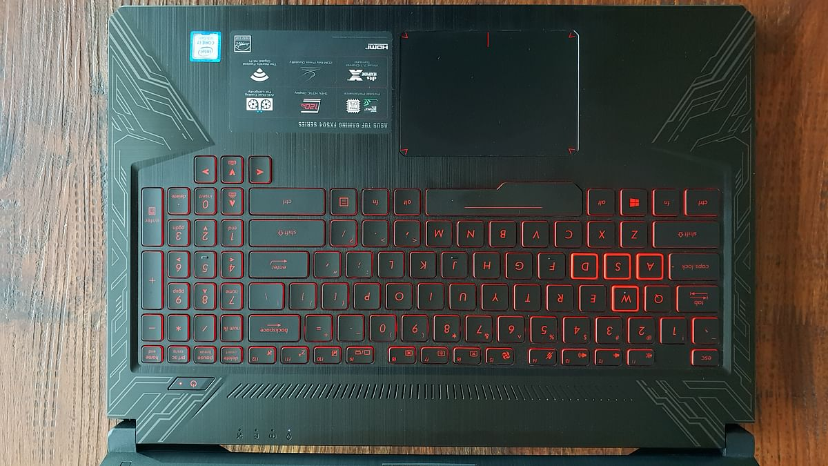 No RGB support for the keyboard. Bummer.