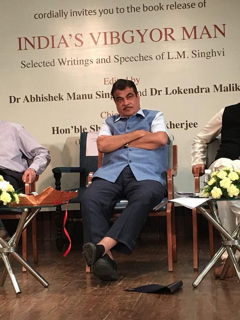 Union Minister Nitin Gadkari at the event.