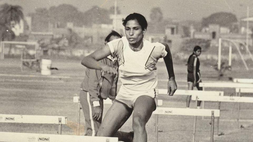 File picture of Indian sprinter PT Usha