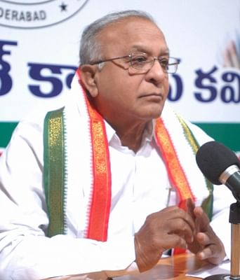 Congress leader Jaipal Reddy. (Photo: IANS)