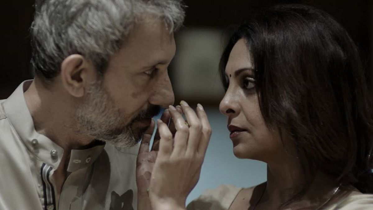 Shefali Shah and Neeraj Kabi&nbsp; in a still from <i>Once Again</i>.