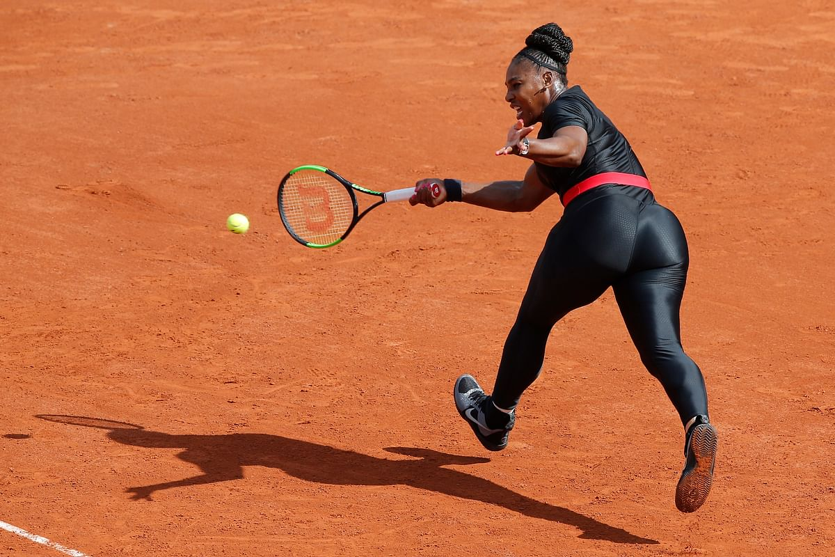 """Serena Williams will be banned from wearing her 'Black Panther' catsuit again at the French Open after Roland Garros chiefs described the outfit as """"going too far""""."""
