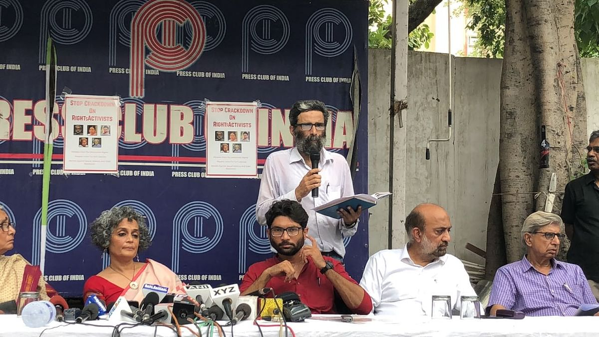 Activists, Authors Condemn Arrests Over Bhima Koregaon Violence