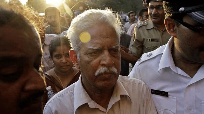 Activist Varavara Rao.