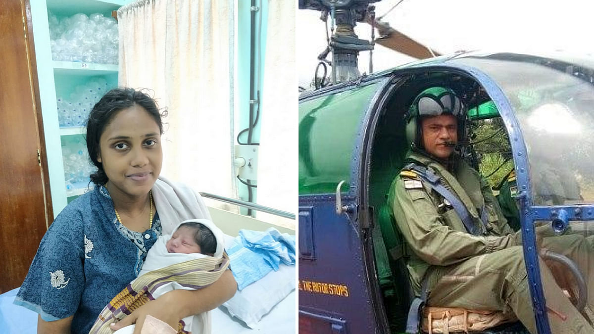 The video of Sajitha being airlifted garnered a lot of well-deserved praise for the Navy crew behind it.