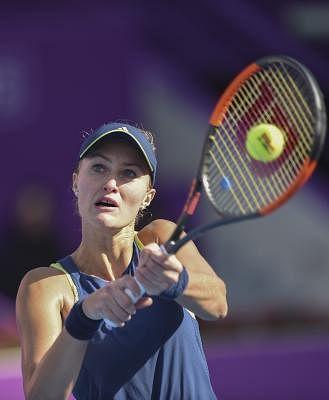 Kristina Mladenovic of France.(File Photo: Xinhua/Nikku/IANS)