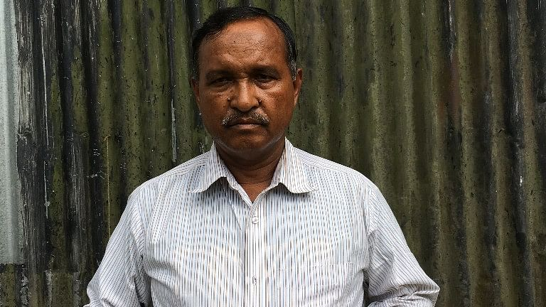 After serving the Indian Air Force for 35 years, Samsul is now a retired sergeant.