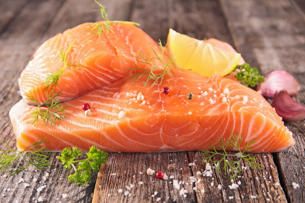 Salmon is the king of Omeg-3s.