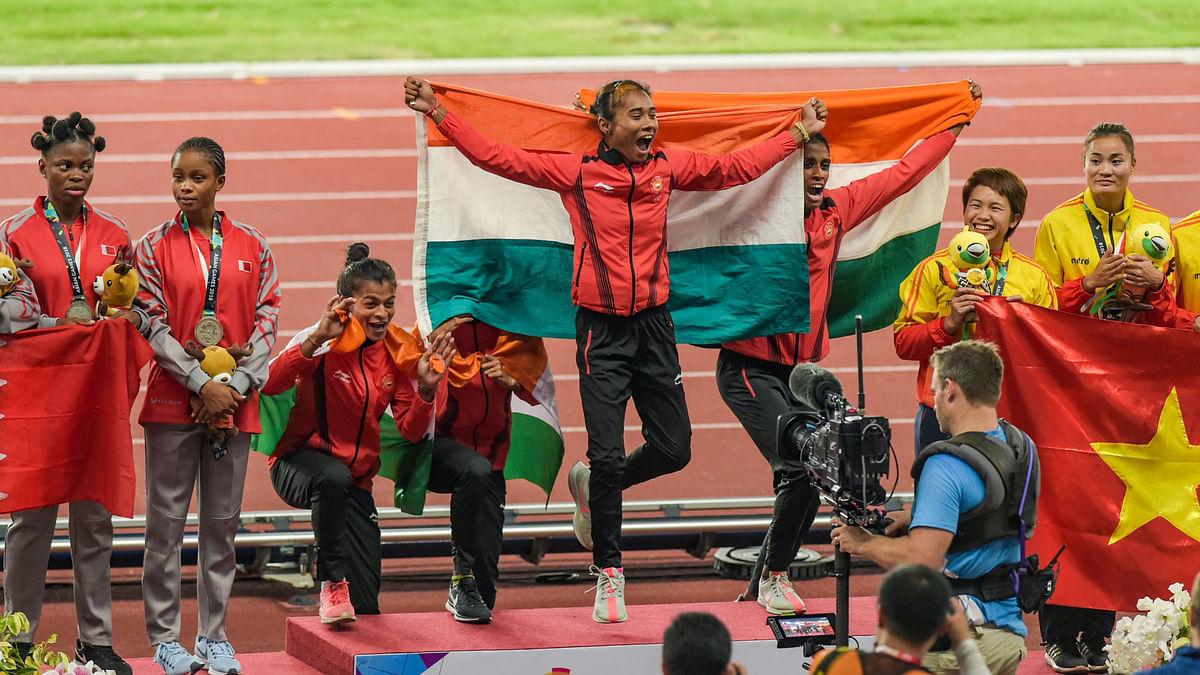 Asian Games: Indian Women Win Fifth Consecutive 4x400m Relay Gold