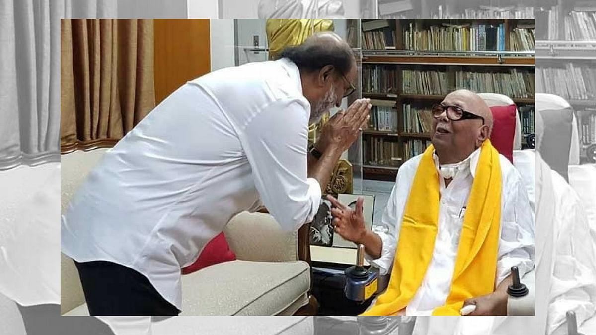 Rajinikanth, Madhavan and Other Actors Pay Tribute to Karunanidhi