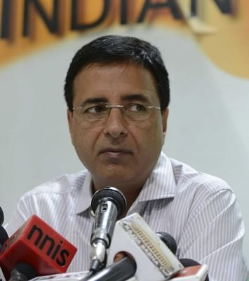 Congress leader Randeep Singh Surjewala. (File Photo: IANS)