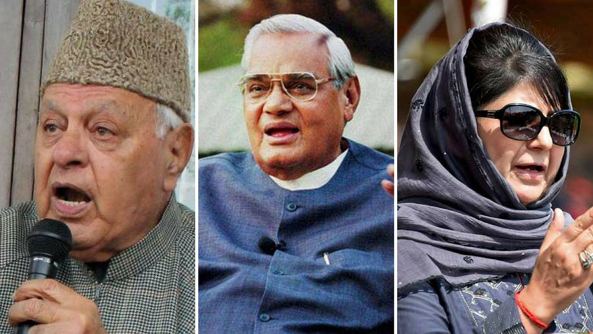 Take Vajpayee's Path to Resolve Kashmir Issue: J&K Leaders To BJP