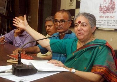 Environmental activist Dr. Vandana Shiva. (Photo: Kuntal Chakrabarty/IANS)