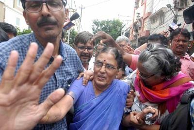 Hyderabad: Maoist ideologue Varavara Rao