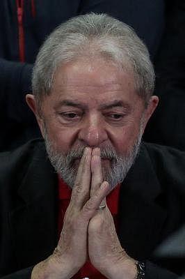 Former Brazilian President Luiz Inacio Lula da Silva. (File Photo: Xinhua/Rahel Patrasso) (fnc) (ce) (swt)