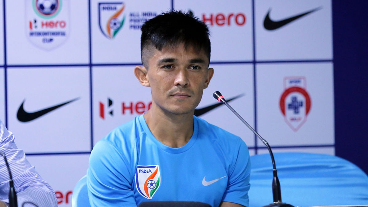 Chhetri Turns Vegan to Become a 'Better Player'