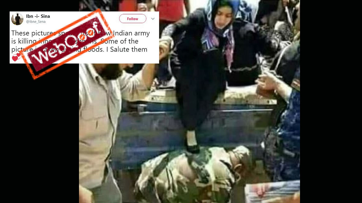 Photo of Iraqi Army Circulated as Indian During Kerala Rescue Ops