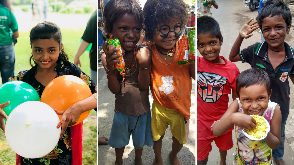 On Independence Day, This Group Shared Food With a Million Indians