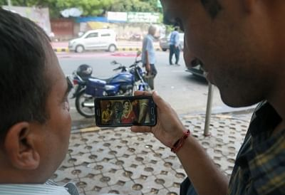 A mere 19 per cent of people in the 15-65 age group use Internet in India, a report said here on Tuesday. (File Photo: IANS)