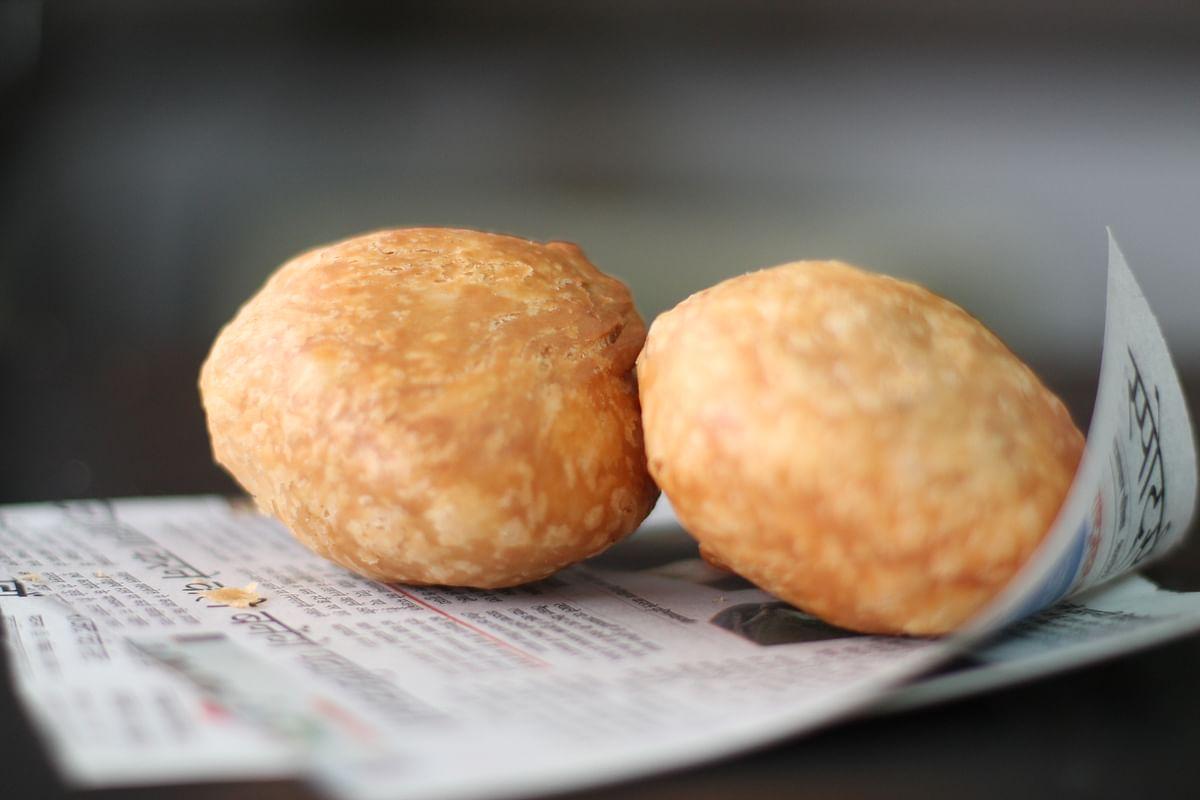 A serving of kachoris.