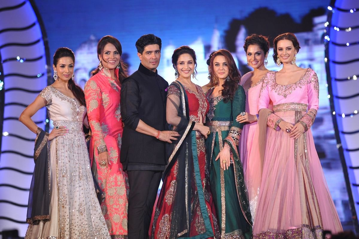 Manish Malhotra started the trend of Bollywood showstoppers in India.