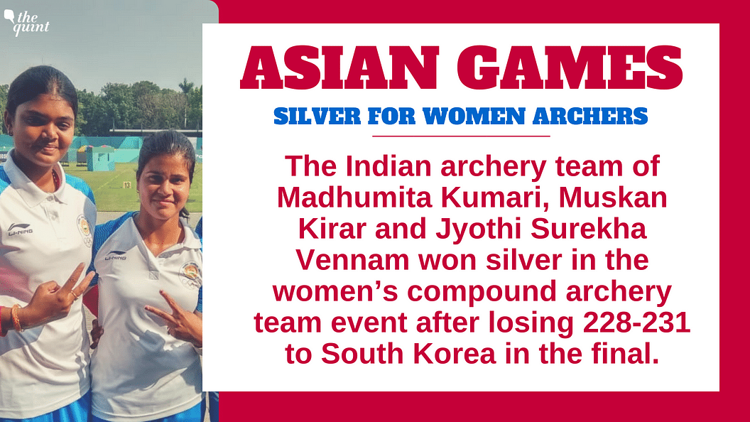 Silver Medals for Indian Men's & Women's Team in Compound Archery